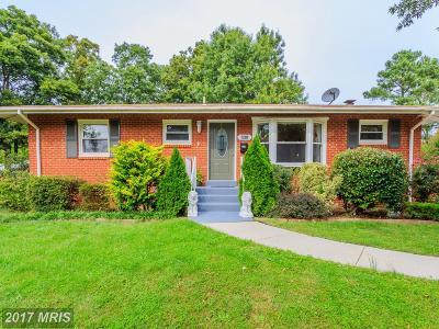 Springfield Single Family Home For Sale: 6810 Jerome Street