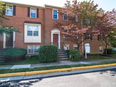 Fairfax Townhouse For Sale: 13112 Quail Creek Lane