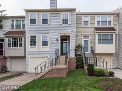 Fairfax Townhouse For Sale: 3334 Buckeye Lane