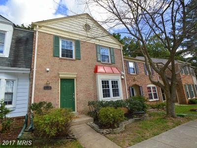 Fairfax Townhouse For Sale: 5509 Cheshire Meadows Way