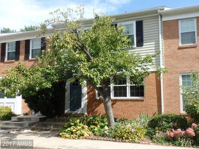 Falls Church Townhouse For Sale: 2787 Middlecoff Place