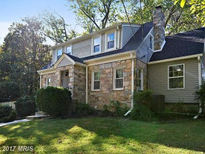 Annandale Single Family Home For Sale: 4012 Oxford Street