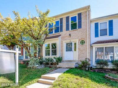 Springfield Townhouse For Sale: 7326 Stream Way