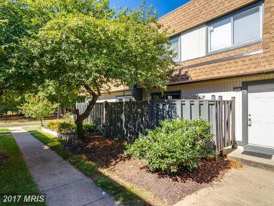 Fairfax, Fairfax City Townhouse For Sale: 7917 San Leandro Place #D