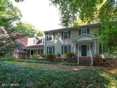 Vienna Single Family Home For Sale: 2424 Hunter Mill Road