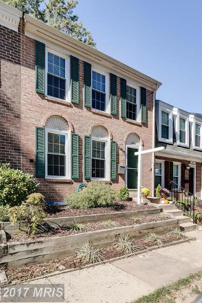 Reston Townhouse For Sale: 11844 Dunlop Court