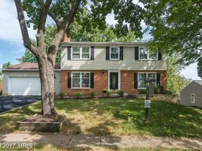 Herndon Single Family Home For Sale: 602 Merlins Lane