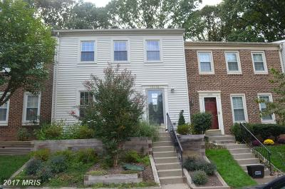 Burke Townhouse For Sale: 10350 Pond Spice Terrace