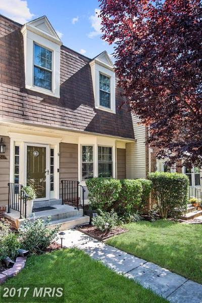 Springfield Townhouse For Sale: 7251 Whitlers Creek Drive