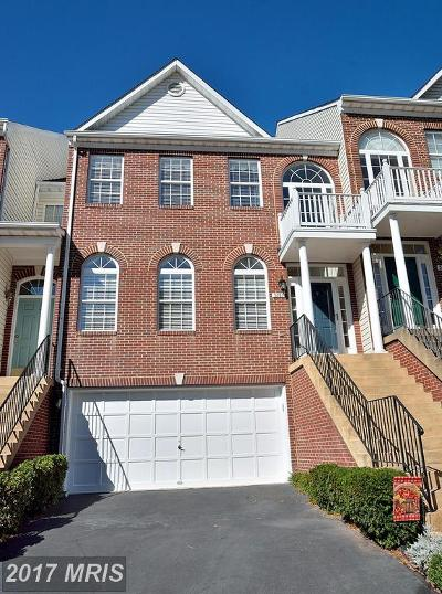 Kingstowne Townhouse For Sale: 5287 Ballycastle Circle