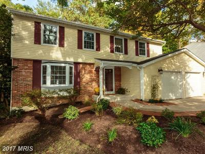 Springfield Single Family Home For Sale: 8108 Rolling Knoll Court
