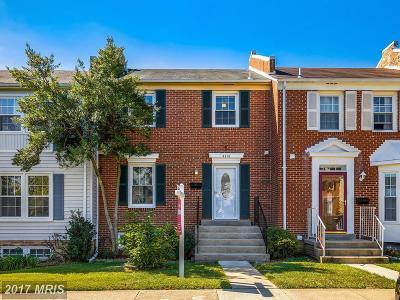 Springfield Townhouse For Sale: 8115 Kenova Lane