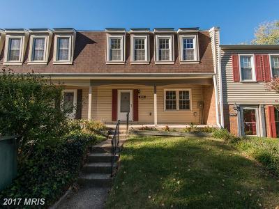 Burke Townhouse For Sale: 6418 Birch Leaf Court #16