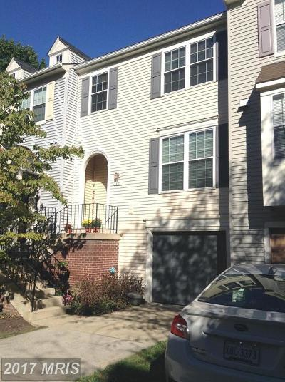 Burke Townhouse For Sale: 5823 Pin Oak Commons Court #7