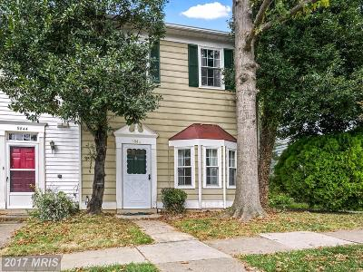 Vienna Townhouse For Sale: 9842 Oakdale Woods Court