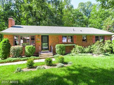 Springfield Single Family Home For Sale: 5649 Ravenel Lane