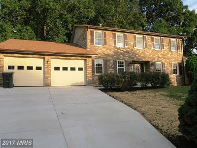 Burke Single Family Home For Sale: 6619 Degen Drive