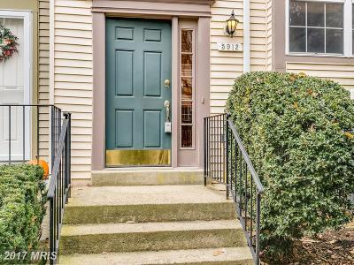 Burke Townhouse For Sale: 5912 Annaberg Place #206
