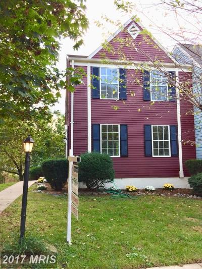 Alexandria Townhouse For Sale: 6629 Rockleigh Way