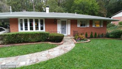 Annandale Single Family Home For Sale: 3809 Ivydale Drive