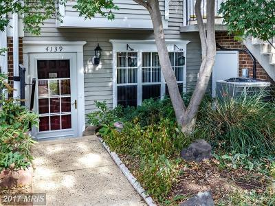 Chantilly Townhouse For Sale: 4139 Weeping Willow Court #144F