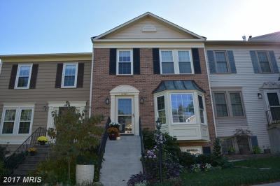 Centreville Townhouse For Sale: 14521 Battery Ridge Lane