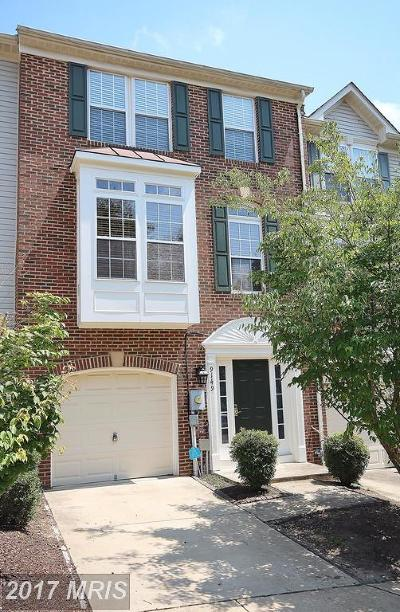 Lorton Townhouse For Sale: 9149 Silvershadow Court