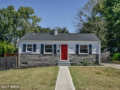 Alexandria Single Family Home For Sale: 5617 Tremont Drive