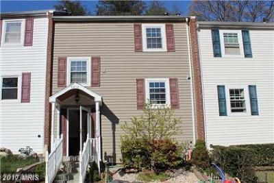 Springfield Townhouse For Sale: 5025 Tibbitt Lane