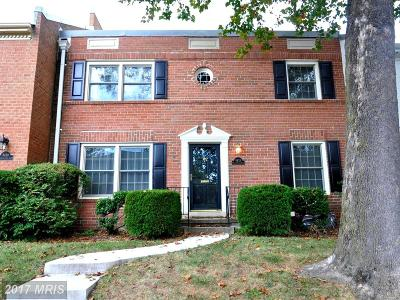 Springfield Townhouse For Sale: 8428 Willow Forge Road