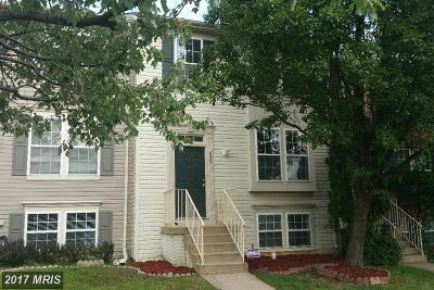 Springfield Townhouse For Sale: 6367 Racetec Place