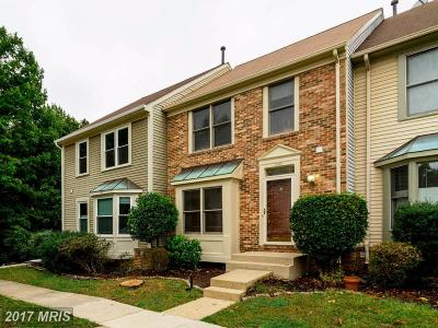 Kingstowne Townhouse For Sale: 7208 Lensfield Court