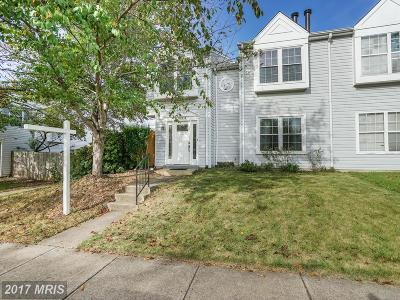 Centreville Townhouse For Sale: 14003 Franklin Fox Drive