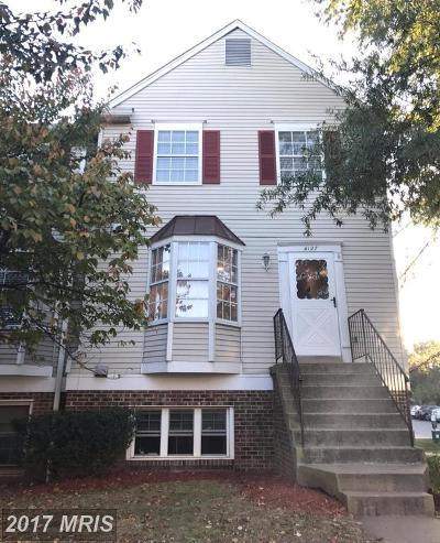 Chantilly Townhouse For Sale: 4127 Winter Harbor Court #122A