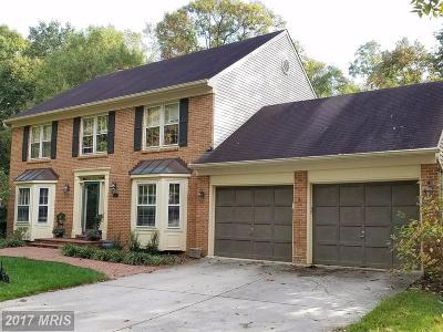 Springfield Single Family Home For Sale: 7815 Huntsman Boulevard