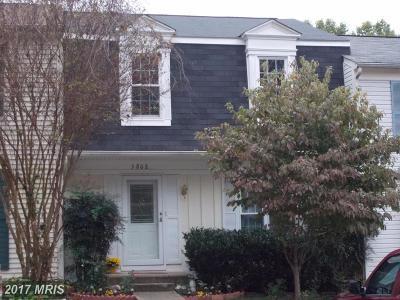 Burke Townhouse For Sale: 5808 Bunker Woods Lane