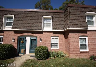 Springfield Townhouse For Sale: 8120 Kingsway Court #279
