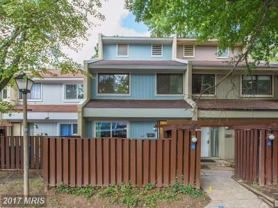 Reston Townhouse For Sale: 2222 Southgate Square