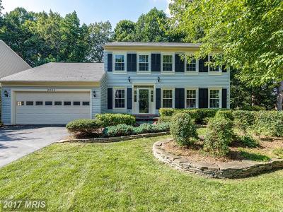 Fairfax Single Family Home For Sale: 9602 Burnt Oak Drive