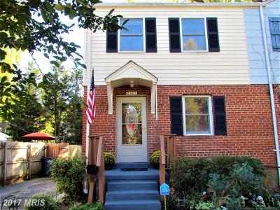 Alexandria Townhouse For Sale: 2121 Arlington Terrace