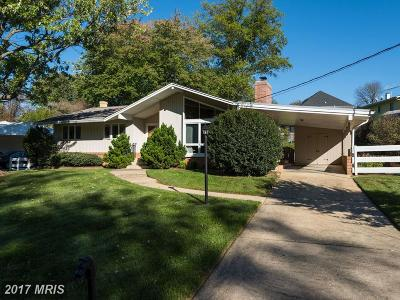 Vienna Single Family Home For Sale: 8421 Berea Drive