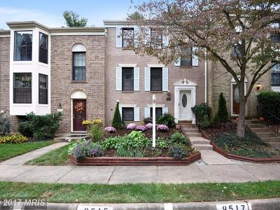 Burke Townhouse For Sale: 9515 Draycott Court