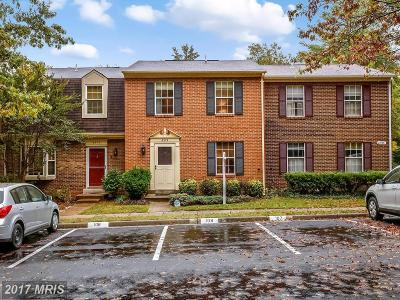 Springfield Townhouse For Sale: 6374 Shaundale Drive