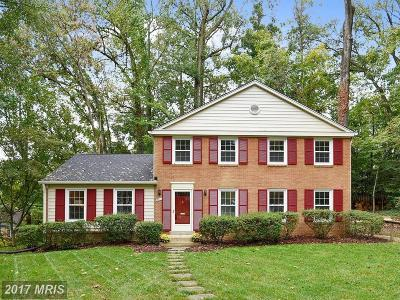 Annandale Single Family Home For Sale: 8211 Captain Hawkins Court