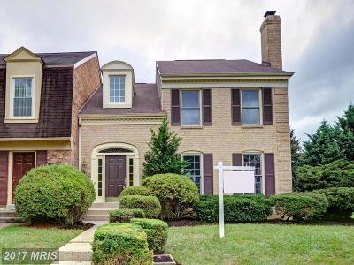 Fairfax Townhouse For Sale: 4624 Luxberry Drive