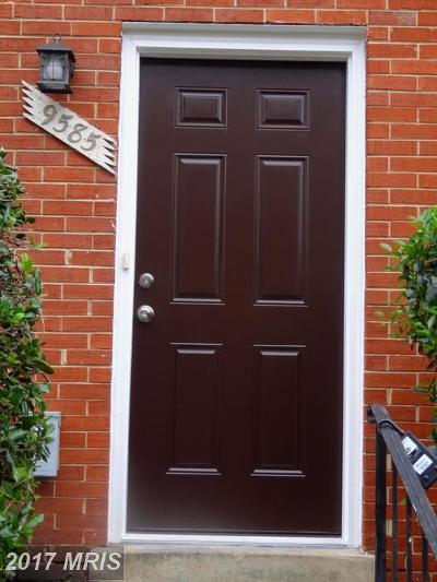 Lorton Duplex For Sale: 9585 Hagel Circle #D