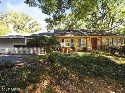 Alexandria VA Single Family Home For Sale: $1,645,000