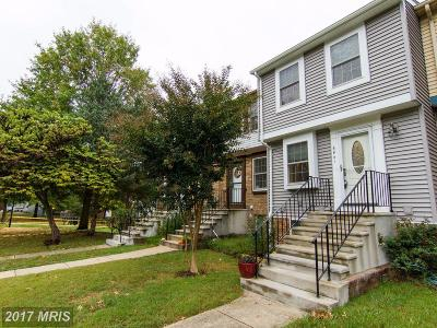 Alexandria Townhouse For Sale: 6841 Heatherway Court
