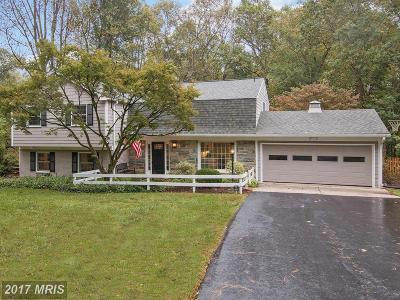 Vienna Single Family Home For Sale: 9904 Carrhill Court