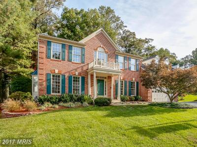 Fairfax Single Family Home For Sale: 8525 Oak Pointe Way